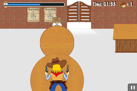 Screenshot Cartoon Showdown X: Fight Against Wild West Gangsters (with Free Bonus game)