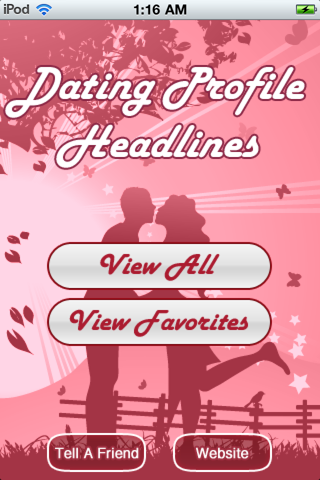 Short online dating headlines